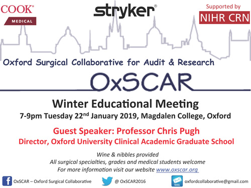 OxSCAR Winter Educational Meeting